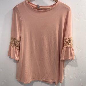 ASOS pink top